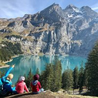 Oeschinen Lake :: Switzerland's Best & Easy hike with kids