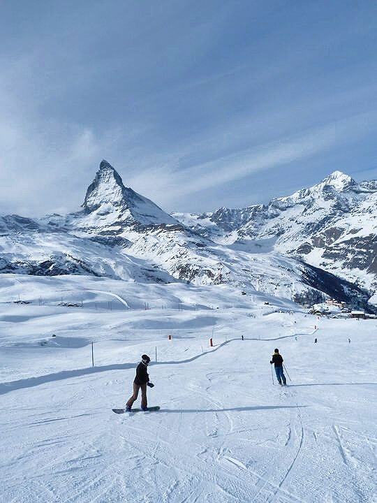 Family friendly ski resort Zermatt