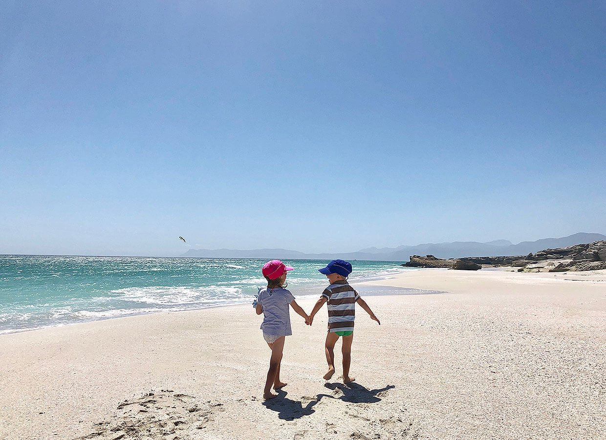 Walkers bay with kids