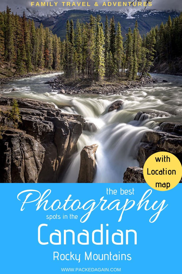 Photography in the Canadian Rockies best spots