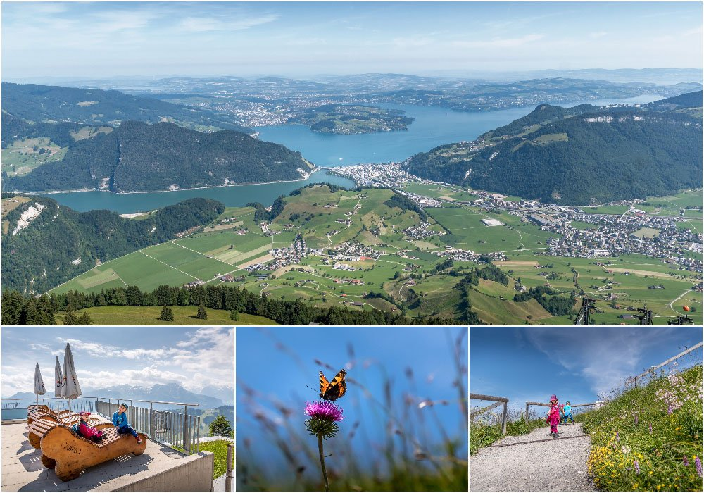 diverters images of the Panorama Hike at the Stanserhorn