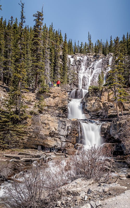 Full size of the Tangle falls  in Canada