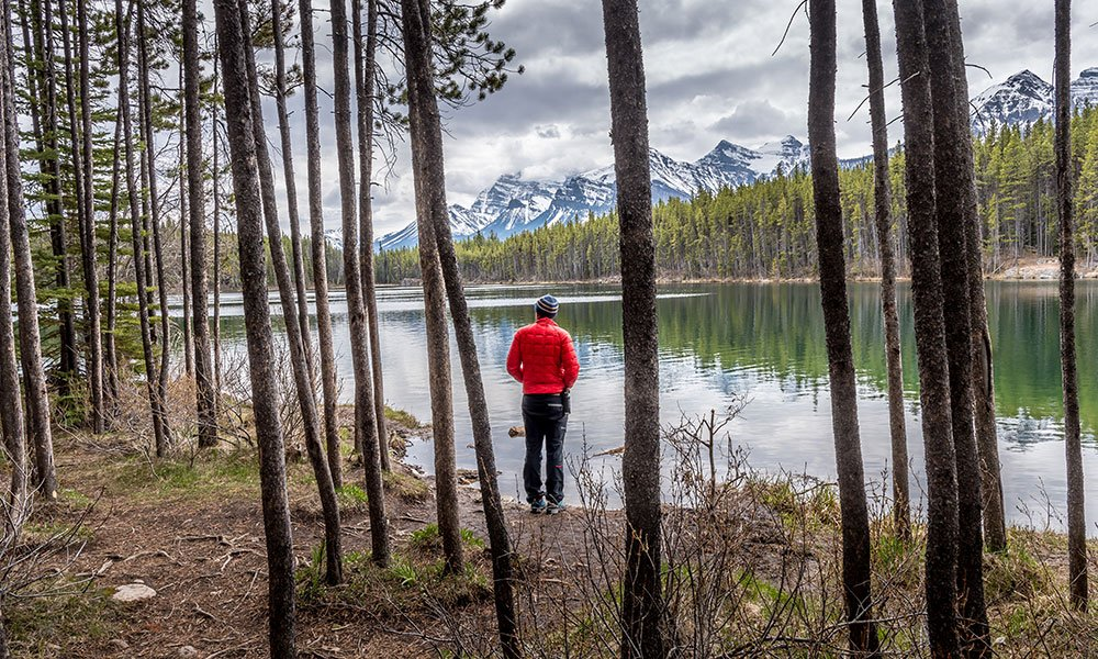Herbert Lake best photography spots Canadian Rockies