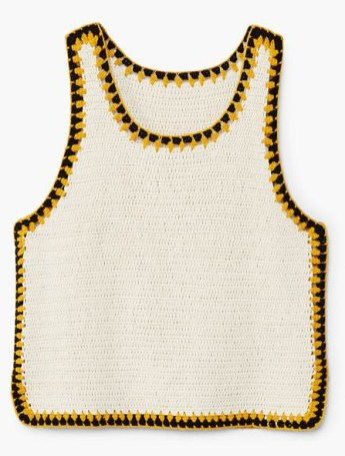 Trims crochet top