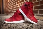 Air Jordan 1 Retro High Gym Red/White - Team Red-White ($140)