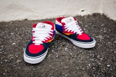 """Vans 'Year of the Monkey"""" Half Cab Multi-Suede-Leather -11"""