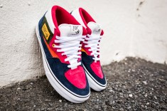 """Vans 'Year of the Monkey"""" Half Cab Multi-Suede-Leather -2"""