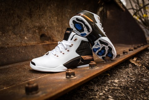Air Jordan 17 retro white-metallic copper-black-6