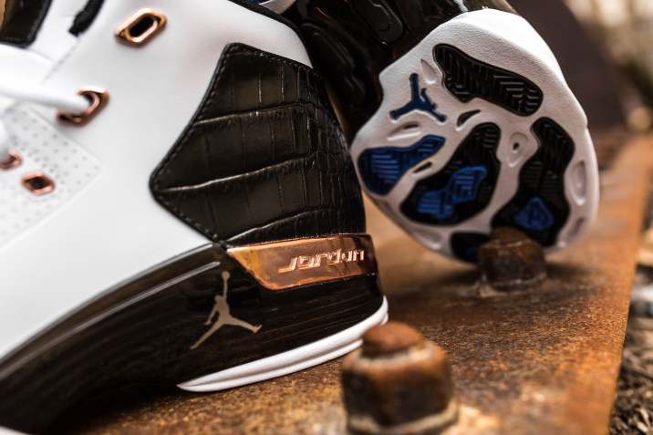 Air Jordan 17 retro white-metallic copper-black-7