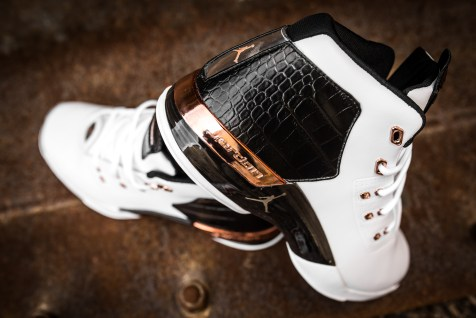 Air Jordan 17 retro white-metallic copper-black-8