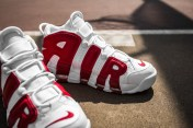 Nike Air More Uptempo white-gym red-14