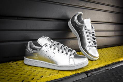 Raf Simons x adidas stan smith silver-18