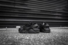 Nike Air Huarache Black-Black-7