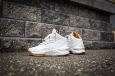 Under Armour Curry 1 Mid Leather White-White-15