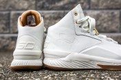 Under Armour Curry 1 Mid Leather White-White-6