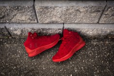 Under Armour Curry 1 Mid Red-Red Suede-13