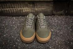 Vans Old Skool Canvas Ivy Green-Light Gum-4