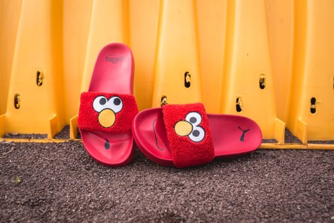 Puma x Sesame Street Slides Elmo 362456 02-9