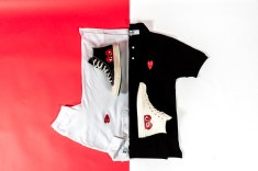 CDG apparel and Converse CT-3