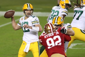Packers vs 49ers pick against the spread