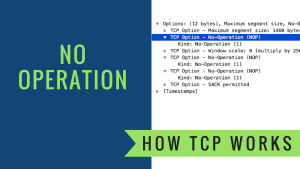 How TCP Works – No Operation Field