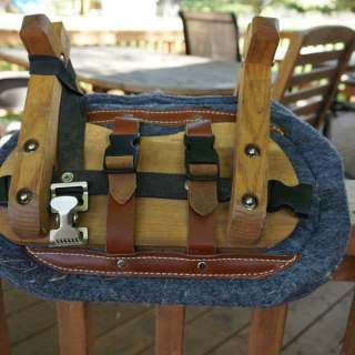 """Stay Put"" Pack Goat Saddle Pads for cross buck saddles"