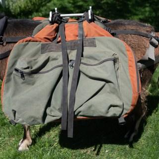 Large Pack Goat Panniers -Teton Panniers – by Matt Lyon