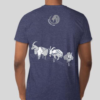 Hunting with Pack Goats T-Shirt