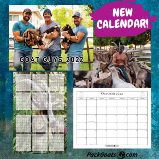Goat Guys 2022 Calendar
