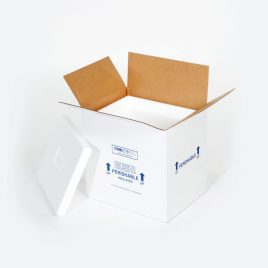 9 1/2×9 1/2×7″ Insulated Shipper – 1 1/4″ Thickness $10.33/piece