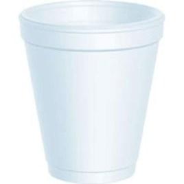 FINAL SALE: Dart® 8 oz White Foam Cups (1000/cs) (MFG# 8J8) $51.97/piece