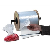4×4″ 2 Mil Medium Gauge Poly Bags On A Roll (3000/roll) $45.71/piece
