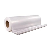 3'x100` 4 Mil Heavy-Duty Clear Poly Sheeting $17.17/piece