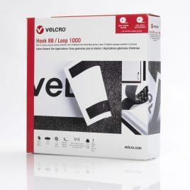1″x25 yds VELCRO® Brand White Hook+Loop (1 Box) $125.51/piece