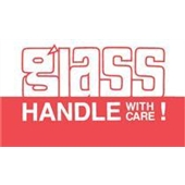 #DL1170  3×5″   Glass Handle with Care Label $13.91/piece
