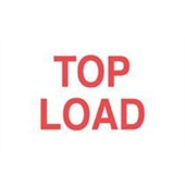 #DL1210  3×5″  Top Load  Label (Red/White) $13.91/piece