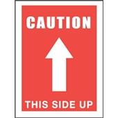 #DL1491 3×5″  Caution This Side Up (Arrow) Label $13.91/piece