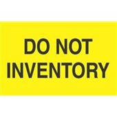 #DL2281  3×5″  Do Not Inventory Label $13.91/piece