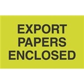 #DL2401  3×5″  Export  Papers Enclosed Label $13.91/piece