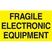 #DL2441  3×5″  Fragile Electronic Equipment Label $13.91/piece