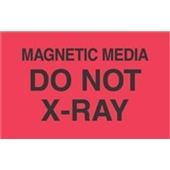 #DL2461  3×5″  Magnetic Media Do Not  X-RAY  Label $13.91/piece