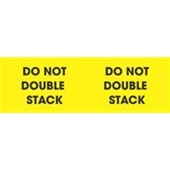 #DL3101  3×10″  Do Not Double Stack (Yellow/Black) Label $36.82/piece