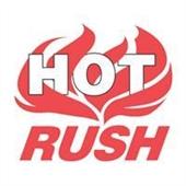 #DL3193  4×4″ Hot Rush (Flames) Label $13.91/piece
