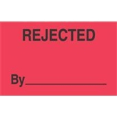 #DL3321  3×5″  Rejected By  _____ Label $13.91/piece