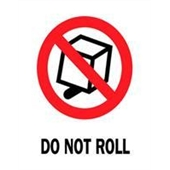 #DL4120  3×4″  Do Not Roll Label $13.91/piece