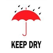 #DL4180  3×4″  Keep Dry ( Umbrella/Rain) Label $13.91/piece