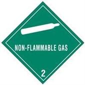 #DL5100  4×4″  Non-Flammable Gas – Hazard Class 2 Label $14.88/piece