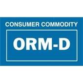 Final Sale:#DL7030  2 1/4 x1 3/8″  ORM-D Consumer Commodity  Label