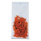 6×10″ 2 Mil Hang Hole Reclosable Poly Bag (1000/Case) $36.27/piece