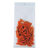 3×4″ 4 Mil Heavy-Duty Hang Hole Reclosable Poly Bag (1000/Case) $18.17/piece